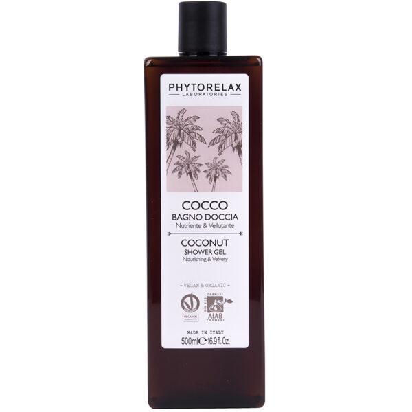 Gel de dus bio cu ulei de cocos Phytorelax