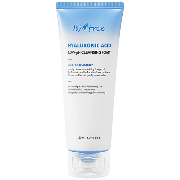 Isntree-Hyaluronic-Acid-Low-pH-Cleansing-Foam